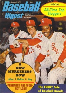 1973 Baseball Digest with Bill Melton and Carlos May