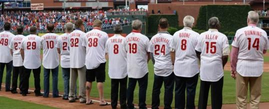 Phillies Alumni Weekend 2013