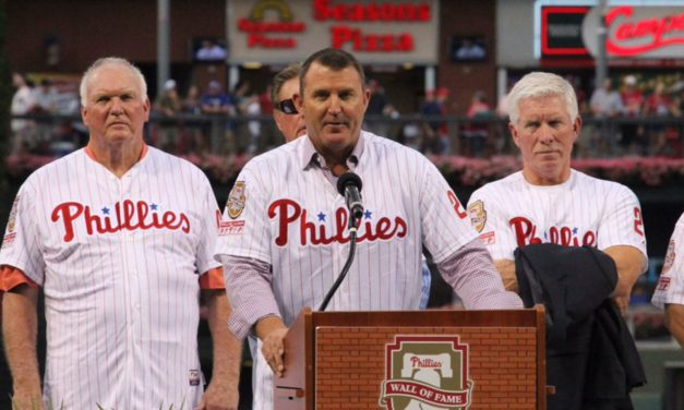 Phillies Alumni Day