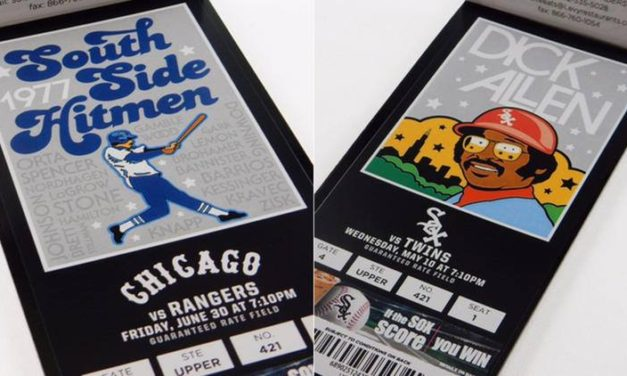 White Sox Ticket